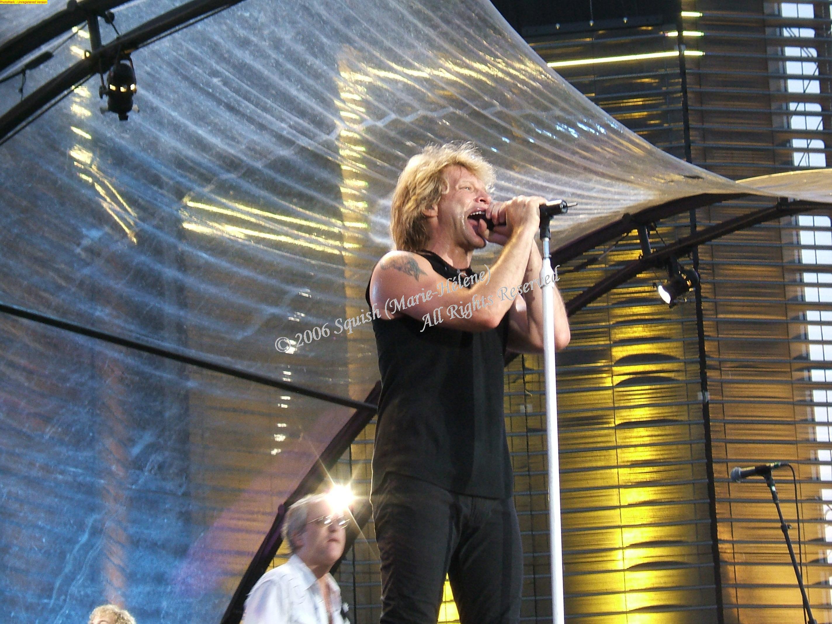 Bon Jovi - Parc Jean-Drapeau, Québec, Canada (13 juillet 2006)